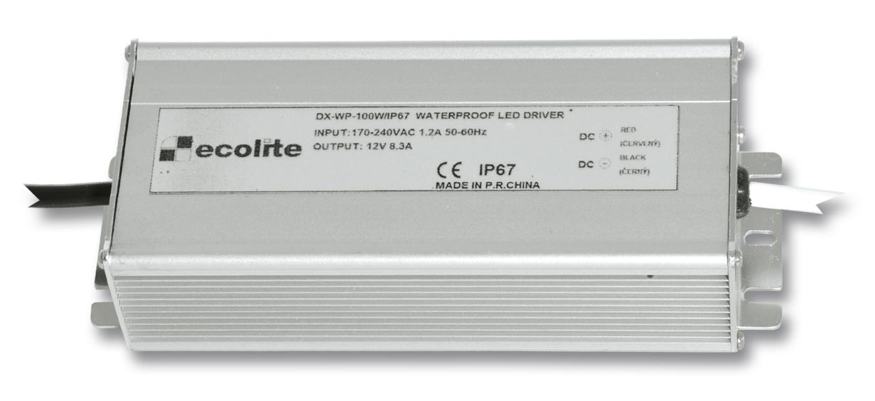 Trafo pro LED pásky, 230V-12V, 8.3A, 100W