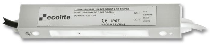 Trafo pro LED pásky 230V-12V, 1.5A, 18W