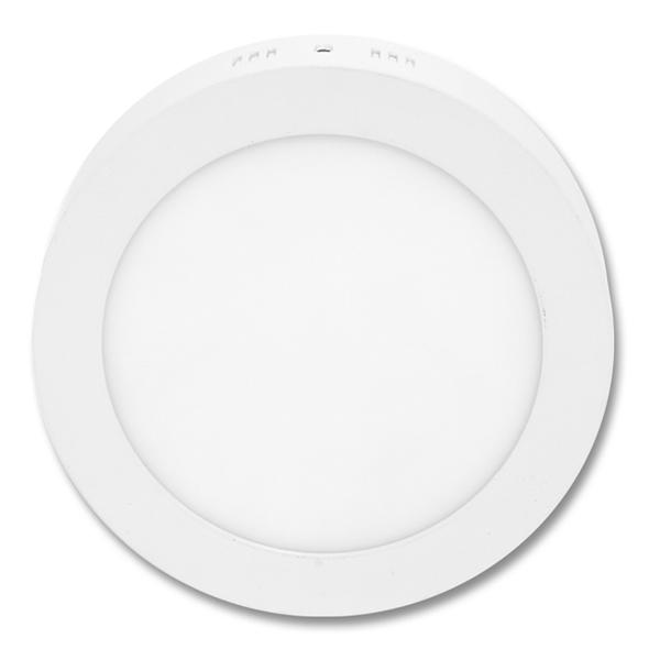 LED panel kruhový přisazený 22,5cm, 18W, 2700K, IP20, 1530Lm bílý