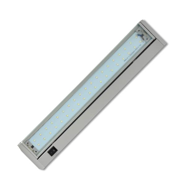 Led osvětlení kuchyňské linky 42xSMD, 10W, 59cm, stříbrná
