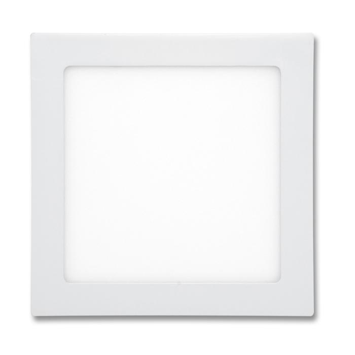 LED panel čtvercový do podhledu 22,5x22,5cm, 18W, 2700K, IP20, 1530Lm bílý
