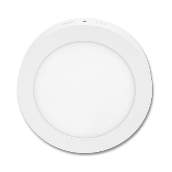 LED panel kruhový přisazený 17,5cm, 12W, 2700K, IP20, 860Lm bílý
