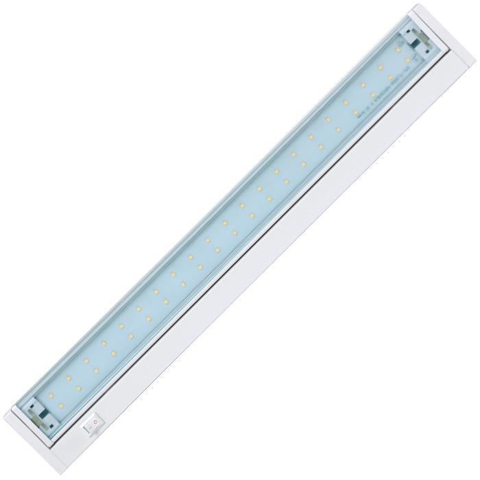 Led osvětlení kuchyňské linky 70xSMD, 15W, 92cm, bílá