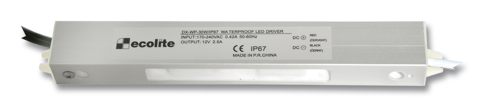 Trafo pro LED pásky 230V-12V, 2.5A, 30W