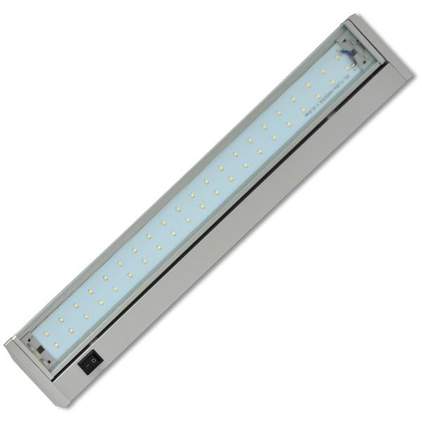 Led osvětlení kuchyňské linky 70xSMD, 15W, 92cm, stříbrná