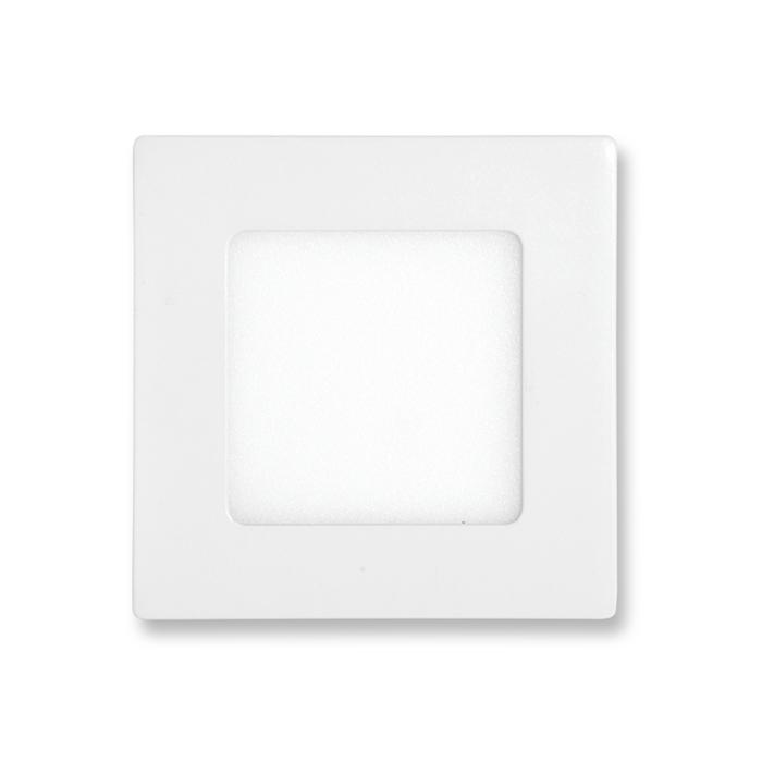 LED panel čtvercový do podhledu 12x12cm, 6W, 2700K, IP20, 420Lm bílý