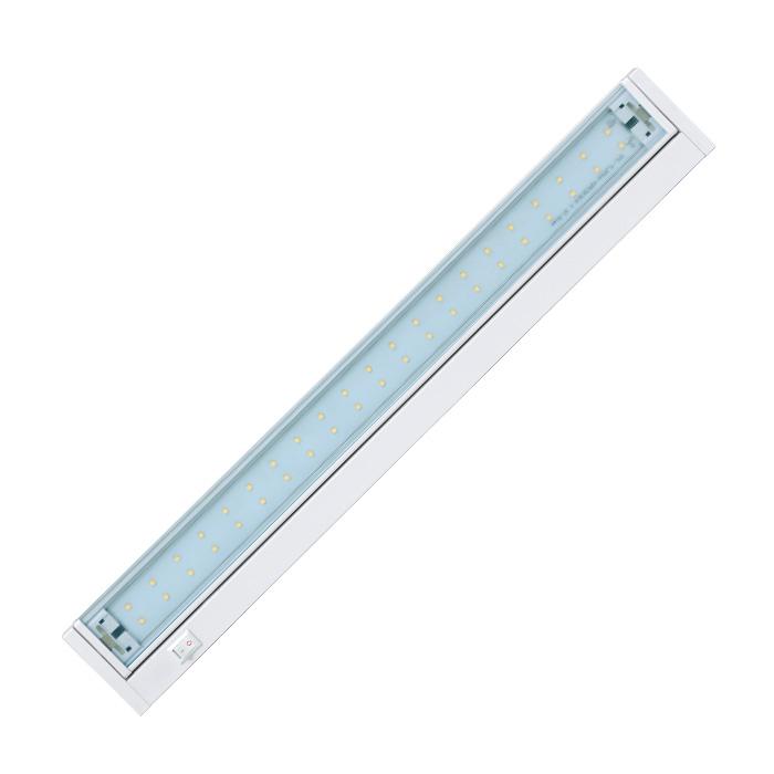 Led osvětlení kuchyňské linky 42xSMD, 10W, 59cm, bílá