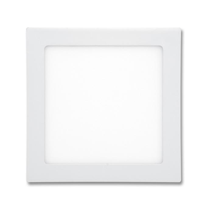 LED panel čtvercový do podhledu 17x17cm, 12W, 2700K, IP20, 860Lm bílý