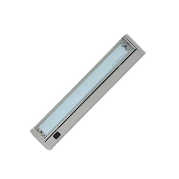 Led osvětlení kuchyňské linky 28xSMD, 5,5W, 36cm, stříbrná